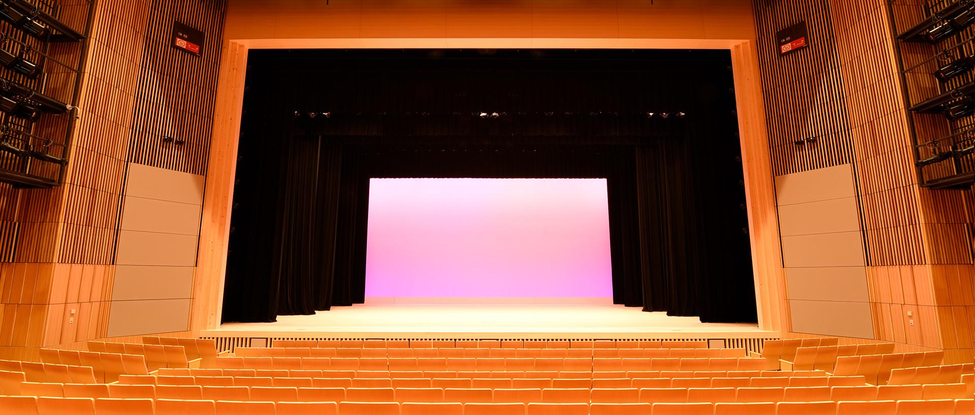 秩父宮記念市民会館 大ホールフォレスタ